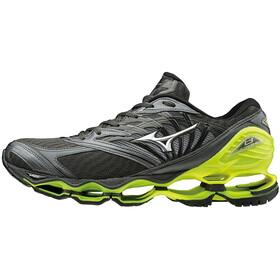 Mizuno Wave Prophecy 8 Shoes Men Dark Shadow/Silver/Safety Yellow
